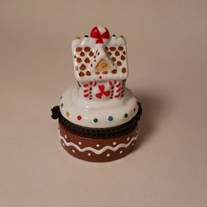 Other - Holiday Gingerbread House Keepsake Box
